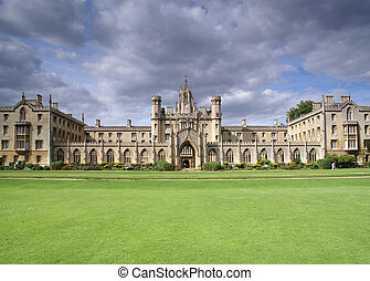 St Johns College New Court, University of Cambridge