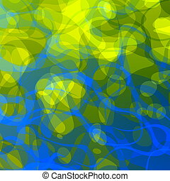 Creative Green Blue Art Background Modern Abstract...