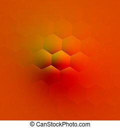Orange Fantasy Bump. Background.