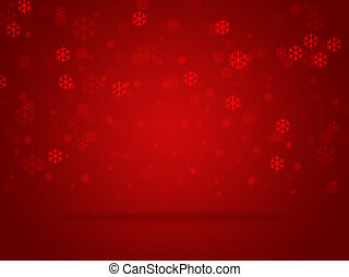 Red blurred background.Red abstract background.