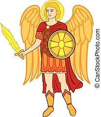 Archangel michael - Vector arms of Kiev