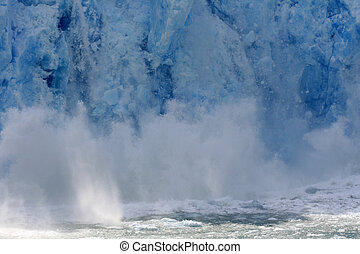 Glacier Bay, Alaska, USA - Glacier Bay Fjord - the icy...