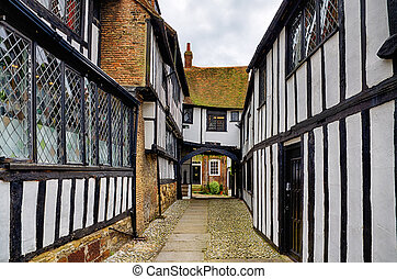 Early Tudor building in Rye.
