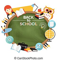 Teacher, Student Education Frame - Education, Learning and...