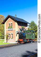 steam locomotive, Steinbach, Germany