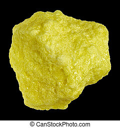 Sulfur - The chemical element sulfur is in the periodic...