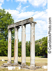 Roman Temple, Riez, Provence-Alpes-Cote dAzur, France