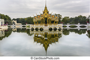 The Royal Summer Palace in Bang Pa-In, Thailand - The Bang...