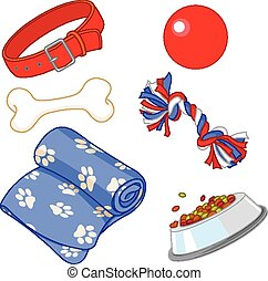 Pet equipment - Some cute stuff for a lovely puppy