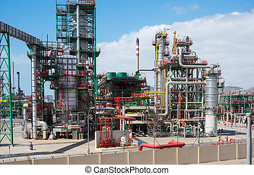 Refinery - industrial refinery in south Europe