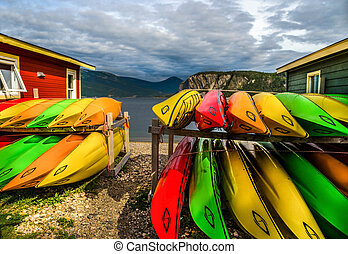 Colorful Canoes  rental