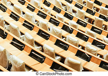 Parliament of Republic of Georgia - A session hall of the...