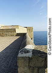 castel dell ovo a old fortress in the town of naples