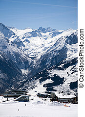Kaprun, Austria - Barrier Lake Kaprun, photo taken in April...