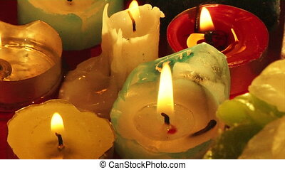 candles - the some firing candles