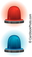 Emergency and police light