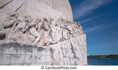 Monument to the Discoveries celebrates the Portuguese who...