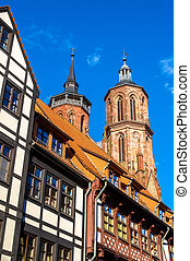 View of the Johannis church in Gottingen - Germany, Lower...