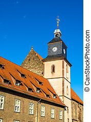Marienkirche, a church in Gottingen - Germany, Lower Saxony