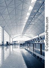Hall of Hong Kong International  Airport