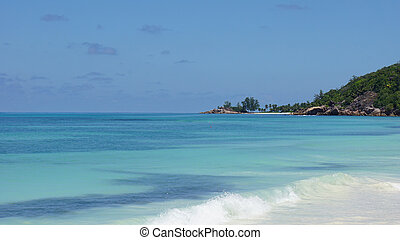 nautral tropical paradise - paradise beach on tropical...