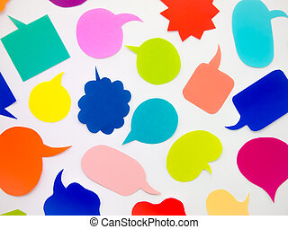 Colorful Balloons White Background - Colorful balloons and...