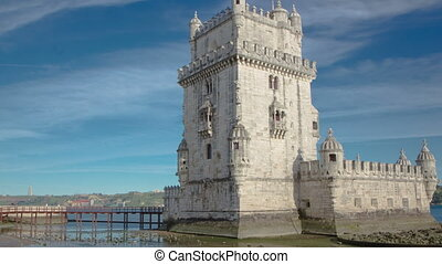 Belem Tower is a fortified tower located in the civil parish...
