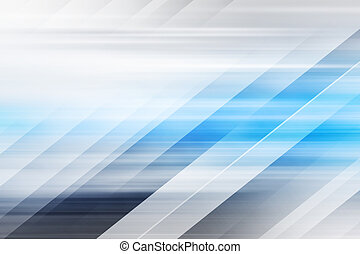 Blue Abstract Futuristic Background