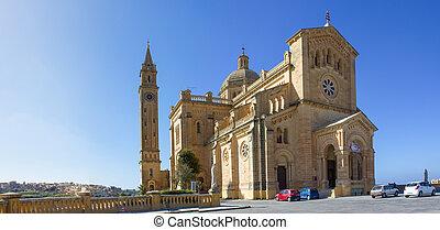 kościół,  ta',  pinu,  Gozo