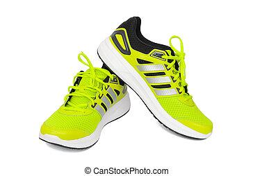 deporte, zapatos,