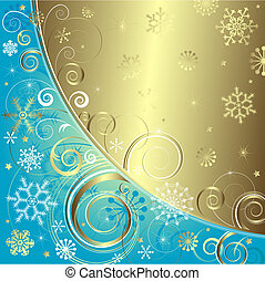 Blue christmas background vector - Blue christmas background...