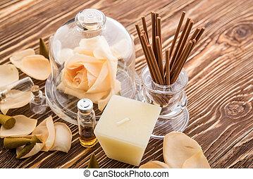 Aromatherapy. Spa stuff
