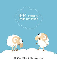 Page not found, 404 error - Page not found, 404 error with...