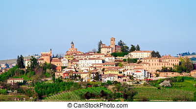 Neive , Le Langhe (Piedmont, Italy)