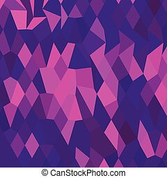 Thistle Purple Abstract Low Polygon Background - Low polygon...