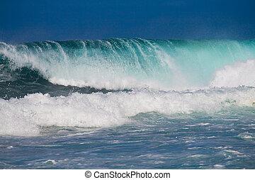 oceano, onde