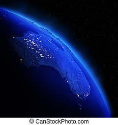 Australia Elements of this image furnished by NASA