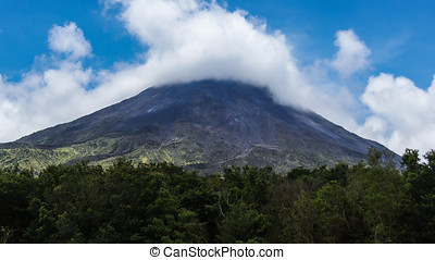 Arenal Volcano, Arenal Volcano National Park, Alajuela,...