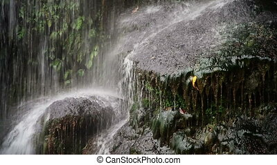 Detian or Ban Gioc waterfall on the border of Vietnam and...