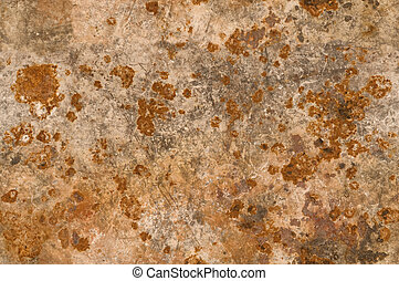 Metal background with rusty corrosion texture