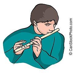 flûtiste,