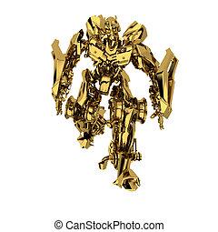 Golden robot