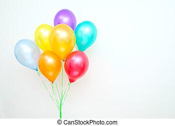 balões,