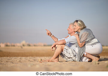 Happy Mature couple - Portrait of a happy mature couple...
