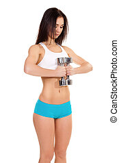 Young Woman Fitness Traine