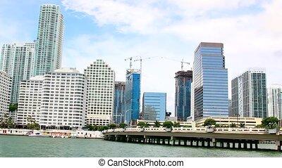 Views of the Miami Skyline