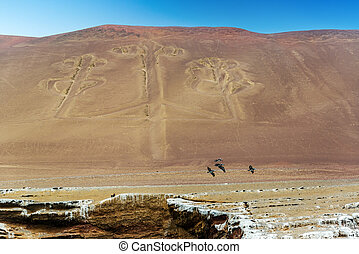 Candelabra of Paracas, Peru - Mysterious ancient candelabra...