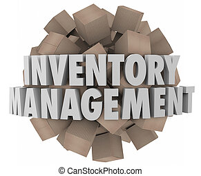 Inventory illustrations and clipart