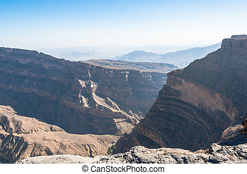 Grand Canyon of Middle-East, Oman