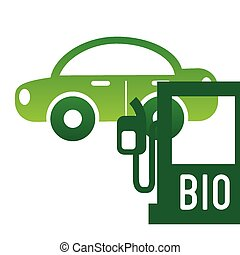 bio fuel design, vector illustration eps10 graphic